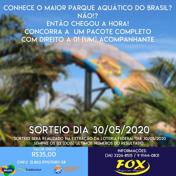 Desafio Fox Tour - Thermas dos Laranjais