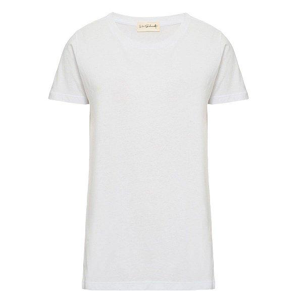 T-Shirt Básica Branca Gratidão