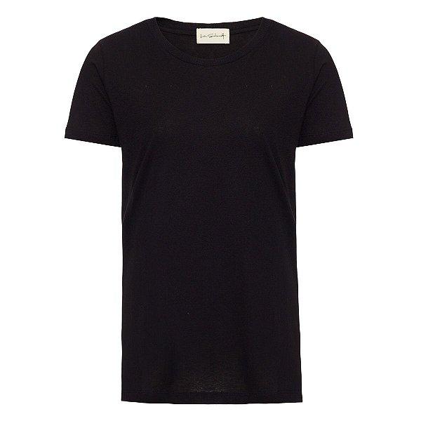T-Shirt Básica Preta Gratidão