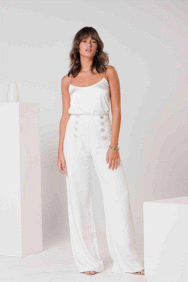 Calça Pantalona Off-White Energia