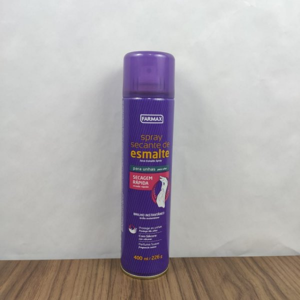 Spray Secante de Esmalte Farmax 400ml