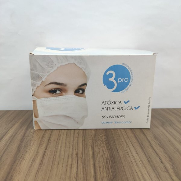 Caixa de Máscara com 50 unidades