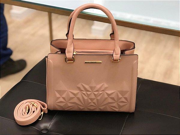 Bolsa Cristal Rosê