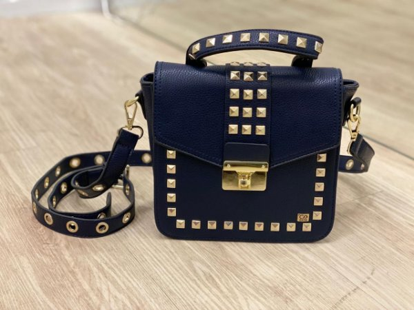 Bolsa Ilhós Luxo Azul