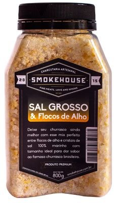 Sal Grosso & Flocos de Alho