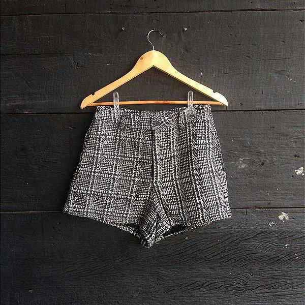 Short Alfaiataria Tweed
