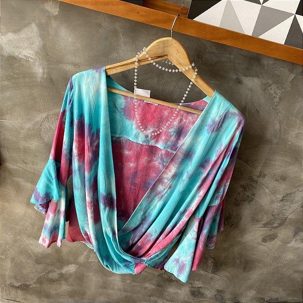 Blusa Cache Coeur Tie Dye