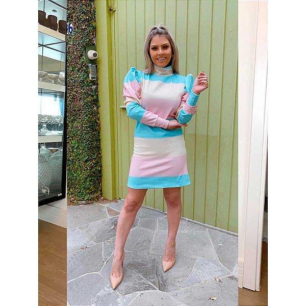 Vestido Candy Manga Bufante