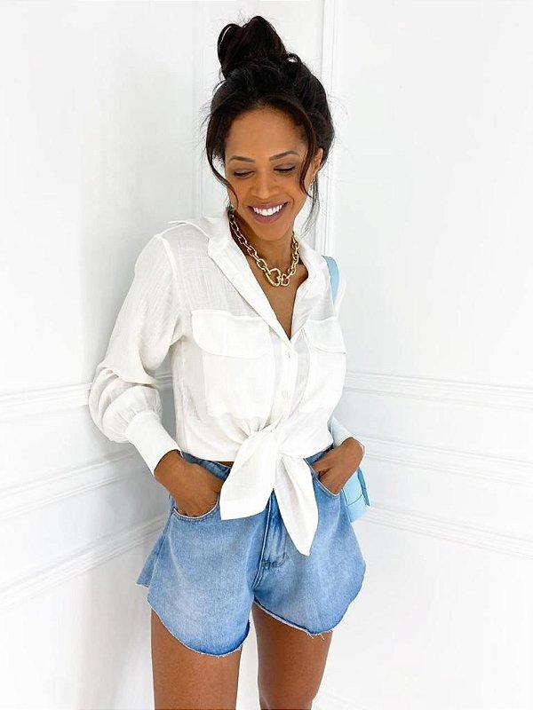 Short Jeans Godê Lavagem Média