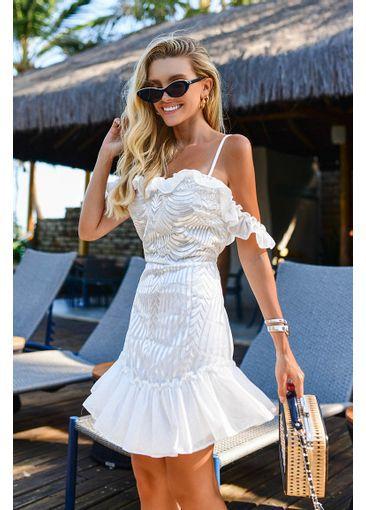 Vestido Atenas Branco