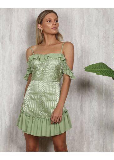 Vestido Atenas Verde