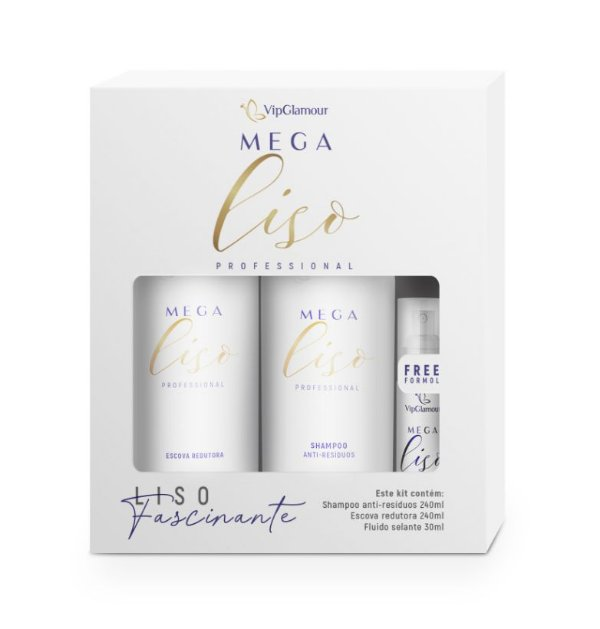 Kit Mega Liso - VipGlamour