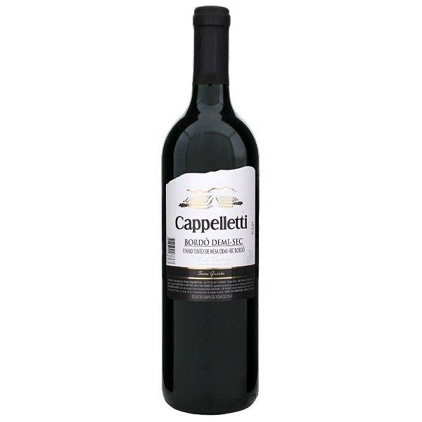 Vinho Bordô Demi-Sec Cappelletti