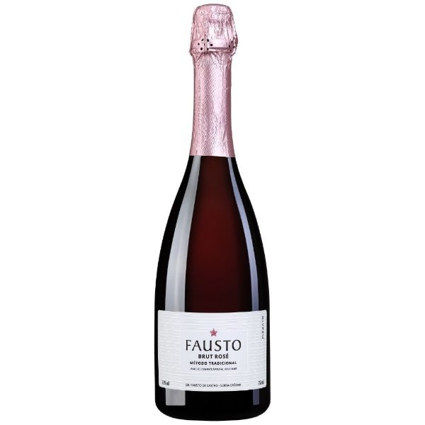 Espumante Brut Rosé Fausto de Pizzato