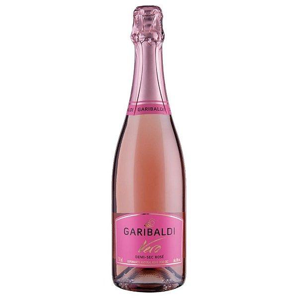 Espumante Demi-Sec Rosé Vero Garibaldi