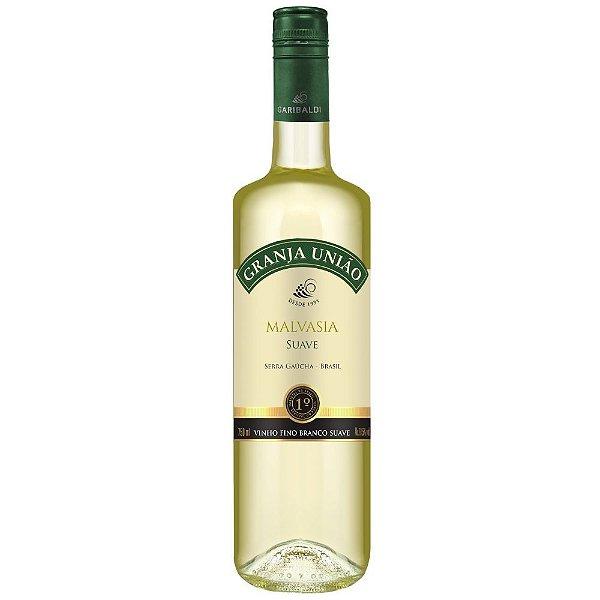 Vinho Malvasia Suave Granja União 750ml Garibaldi