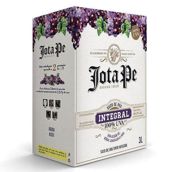 Suco de Uva Tinto Integral Bag-in-Box 3L Jota Pe
