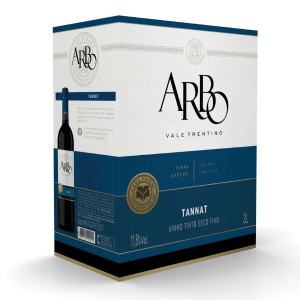 Vinho Tannat Arbo Bag-in-Box 3L Casa Perini