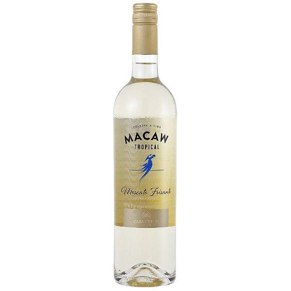 Vinho Branco Frisante Suave Moscato 750ml Casa Perini Macaw Tropical