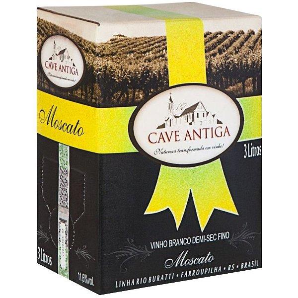 Vinho Moscato Bag-in-Box 3L Cave Antiga