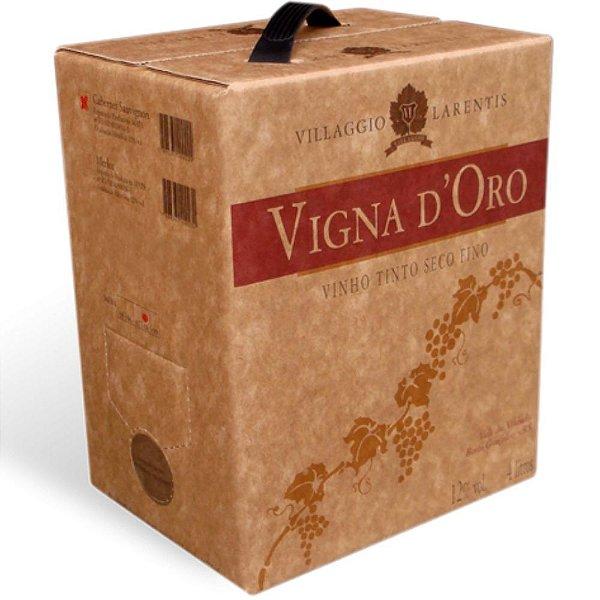 Vinho Cabernet Sauvignon Vigna D' Oro Bag-in-Box 4L Larentis