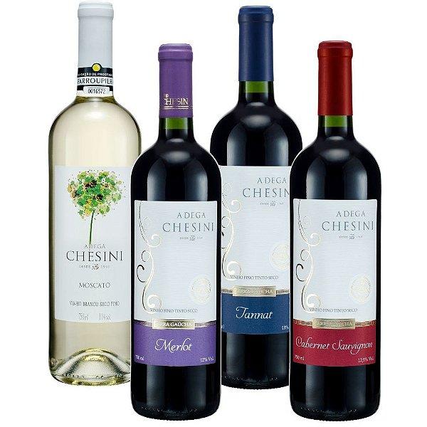 Kit de Vinhos Finos Chesini
