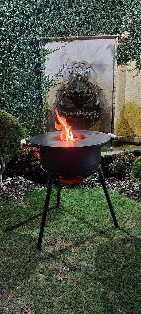 Fire Pit - Modelo Camping Standard