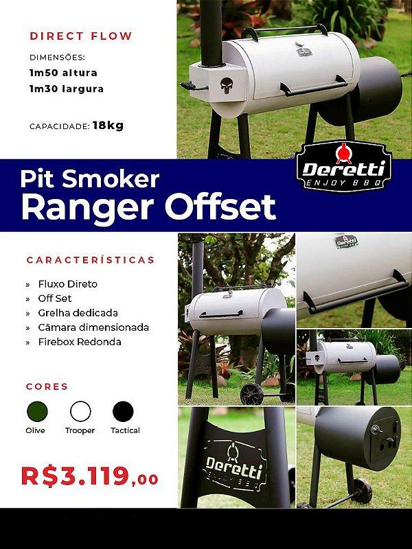 Pit Smoker Ranger Offset