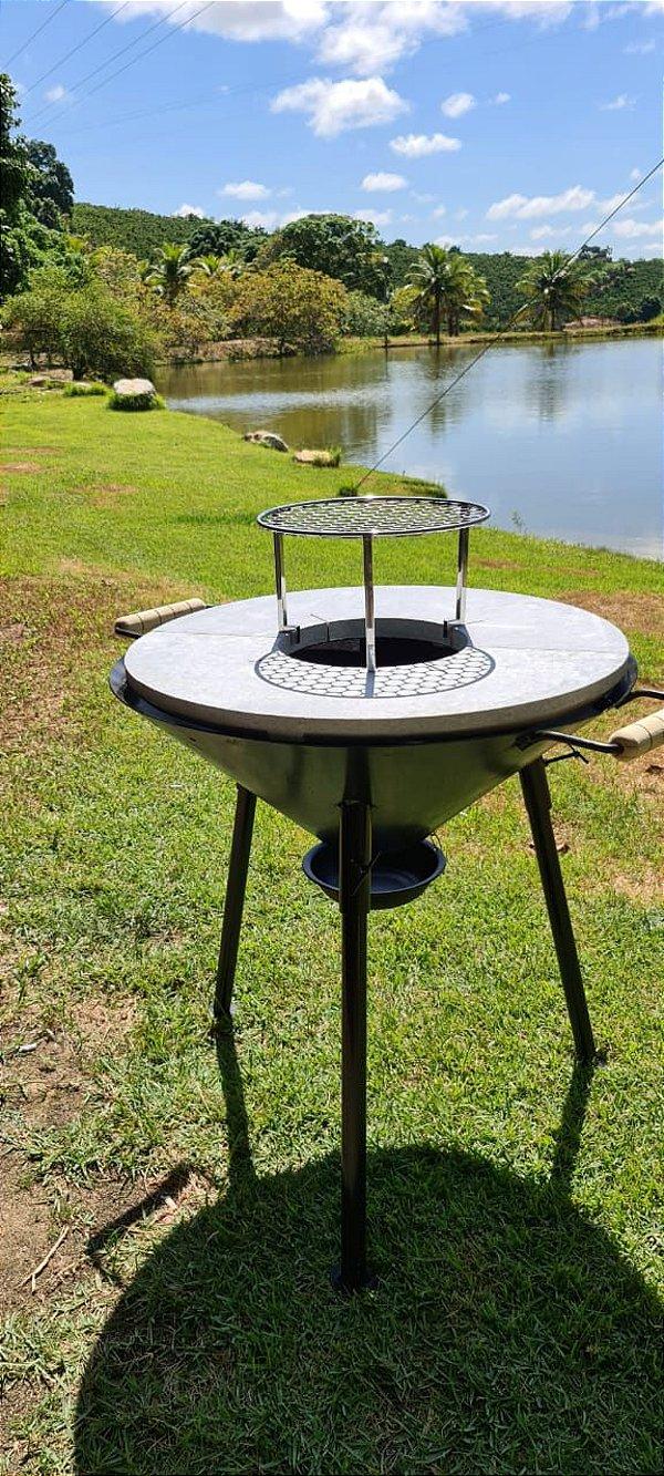 Fire Pit - Modelo Camping Fixa