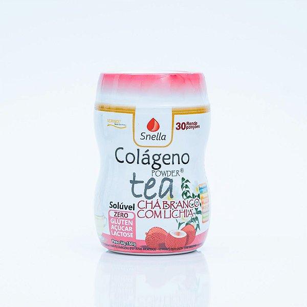 COLÁGENO VERISOL® POWDER TEA CHÁ BRANCO COM LICHIA