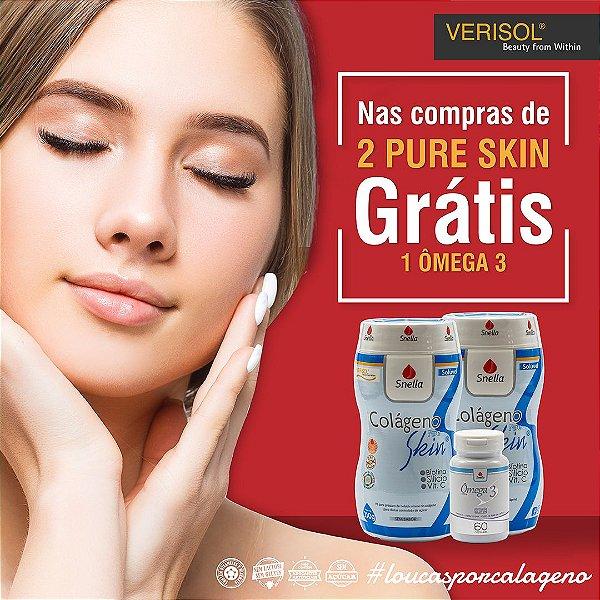 2 Pure Skin - GRÁTIS 1 ômega 3