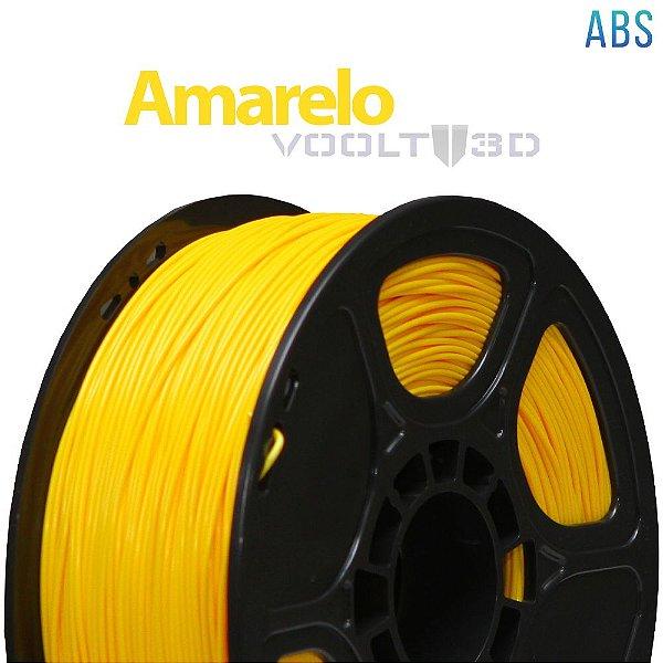 Filamento ABS Amarelo (1 kg)