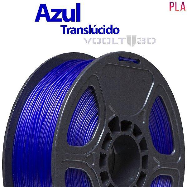 Filamento PLA Azul Translúcido - 1 kg