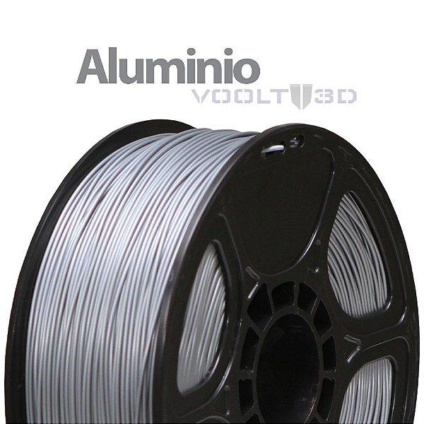 Filamento ABS Alumínio (1 kg)