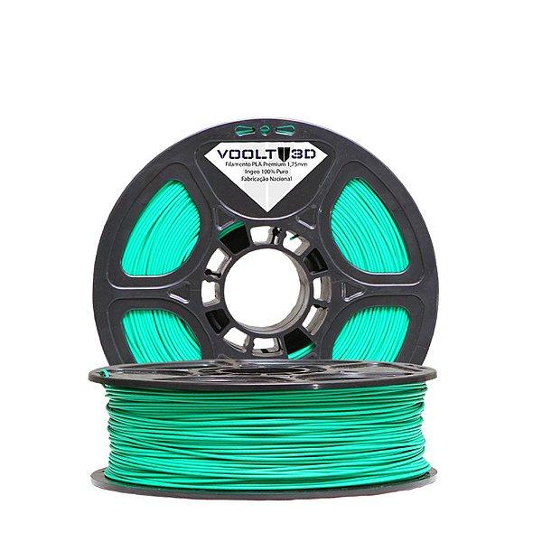 Filamento PLA Verde Fluorescente (1 kg)