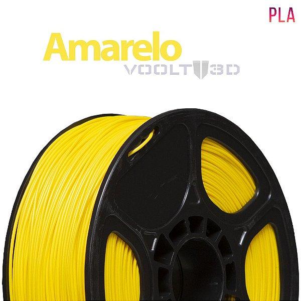 Filamento PLA Amarelo 01 (1 kg)