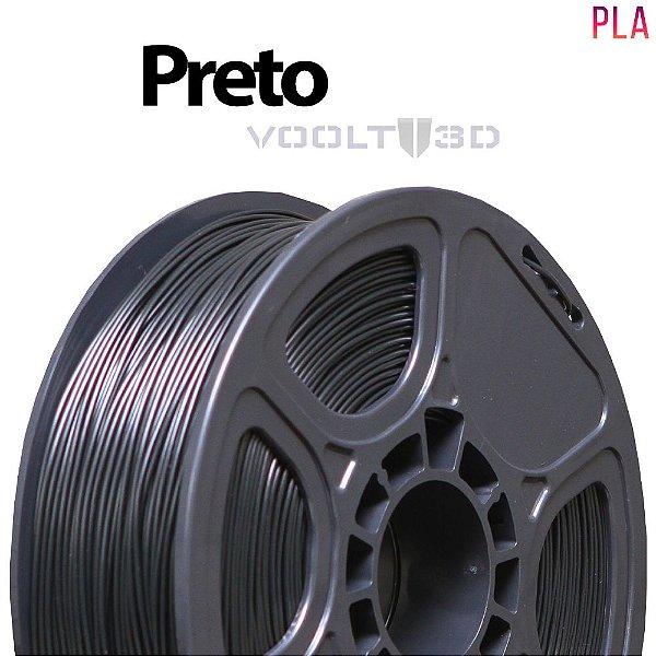Filamento PLA Preto (1 kg)