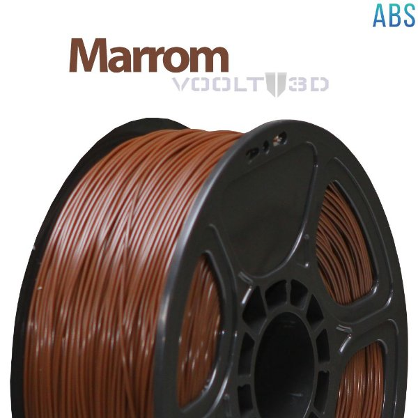 Filamento ABS Marrom (1 kg )