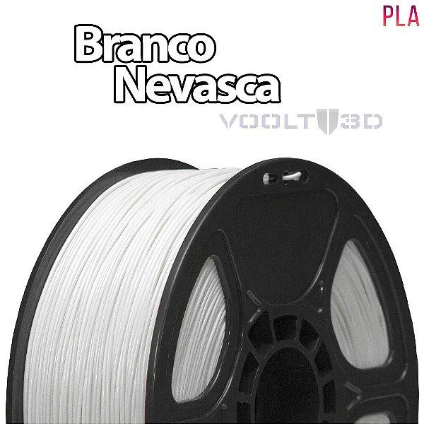 Filamento PLA Branco Nevasca - 1 kg