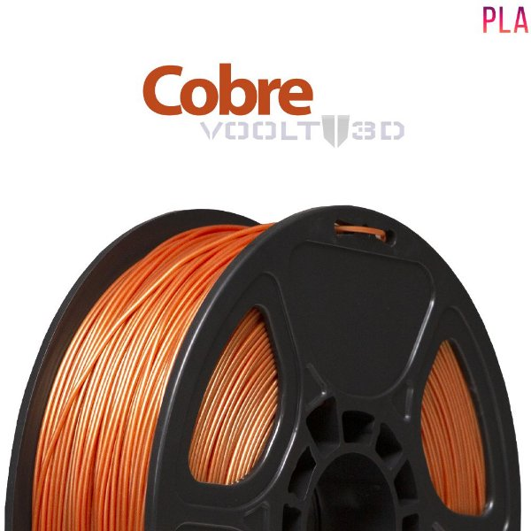 Filamento PLA Cobre - 1 kg