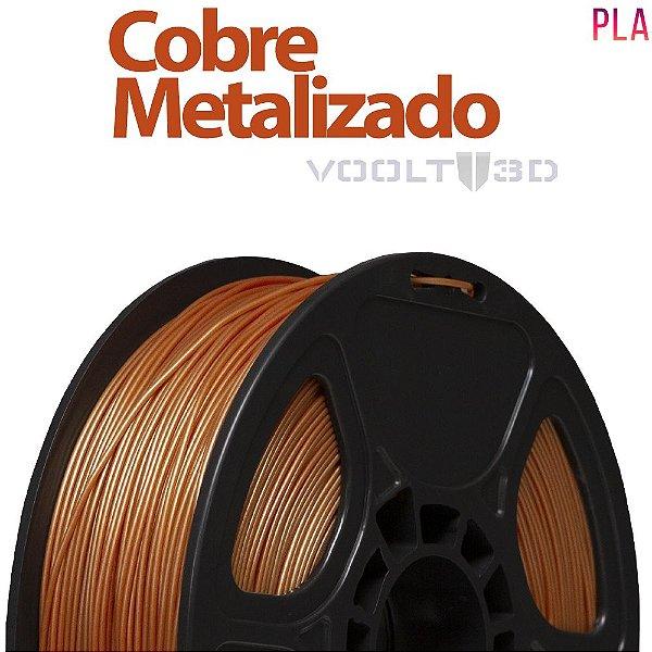 Filamento PLA Cobre Metalizado - 1 kg