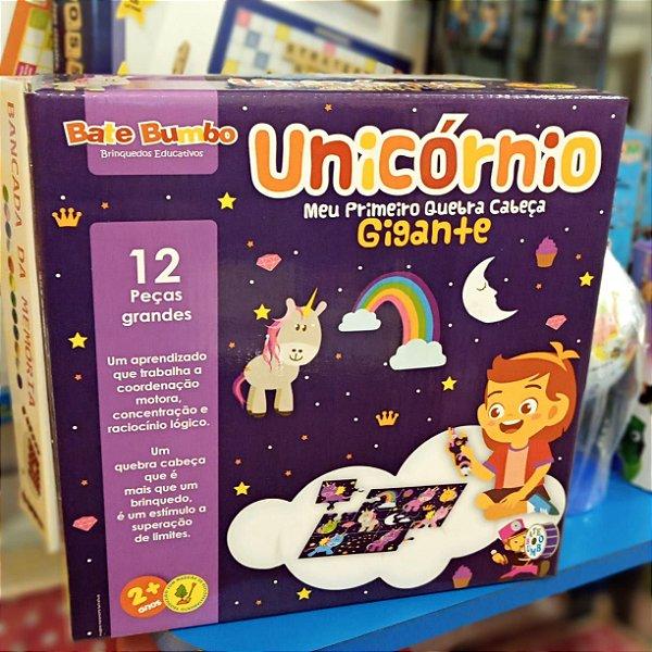 Meu primeiro Quebra Cabeça Gigante - Unicornio