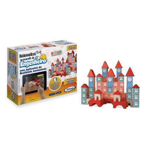 Interactive Play Brincando de Engenheiro