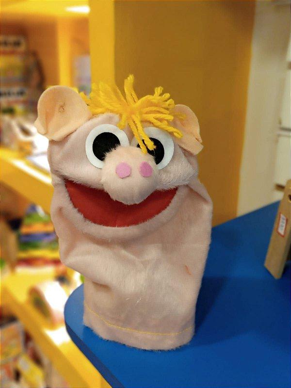 Fantoche Mini Einstein - Porquinho