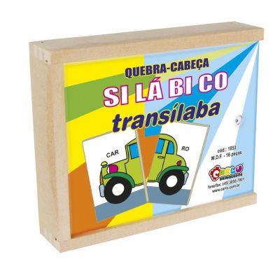 Quebra-Cabeça Silábico Transílaba