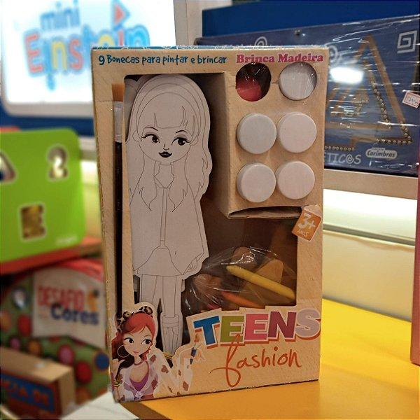 Teens Fashion Bonecas Para Pintar E Brincar