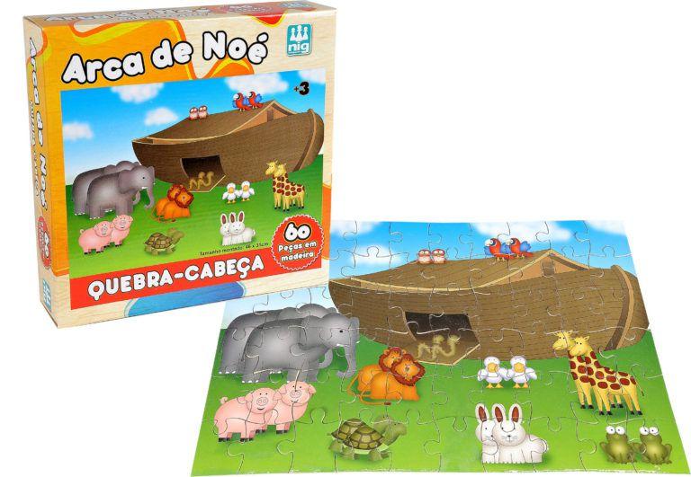 Quebra-cabeça 60 peças Arca de Noé