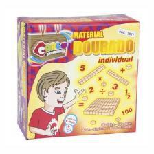 Material Dourado Ind. 62 Peças (Caixa de papel)