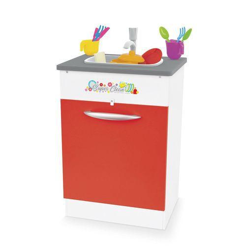 Pia Infantil Super Clean - Vermelho