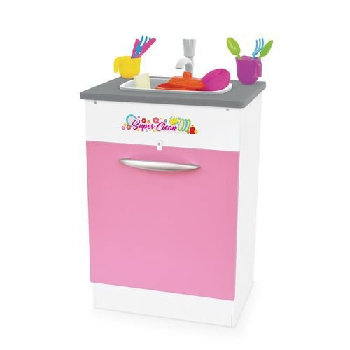 Pia Infantil Super Clean - Rosa